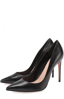 Кожаные туфли на шпильке Alexander McQueen
