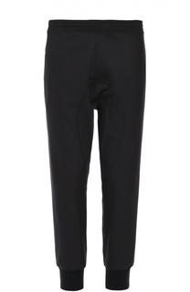 Шерстяные брюки свободного кроя с манжетами Neil Barrett