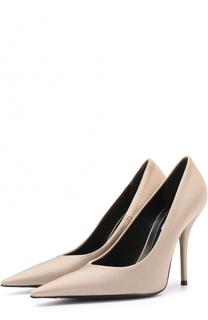 Текстильные туфли с зауженным мысом Balenciaga