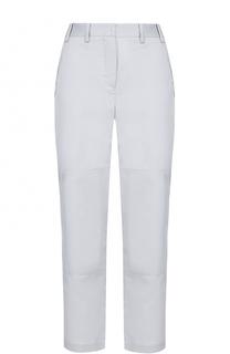 Укороченные расклешенные джинсы с поясом Giorgio Armani