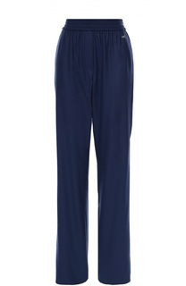 Шерстяные брюки с эластичным поясом и карманами Escada Sport