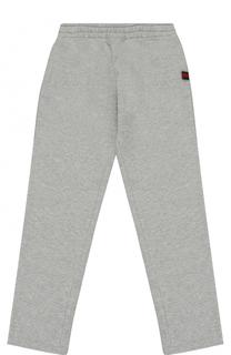 Спортивные брюки прямого кроя Gucci