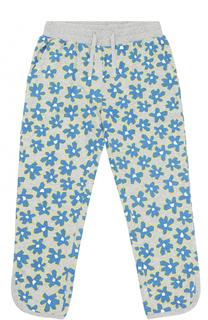 Спортивные брюки с принтом и карманами Stella McCartney