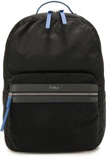 Текстильный рюкзак Fenice с кожаной отделкой Furla
