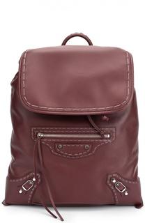 Кожаный рюкзак Traveller Balenciaga