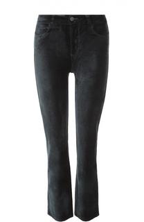 Укороченные бархатные джинсы Paige