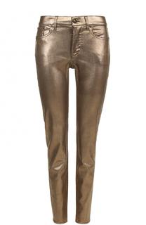 Джинсы прямого кроя с металлизированной отделкой Ralph Lauren