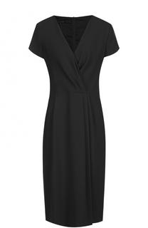Приталенное платье с драпировкой Escada