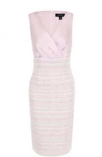 Приталенное платье-футляр St. John