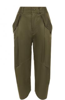 Укороченные брюки-бананы с карманами Polo Ralph Lauren