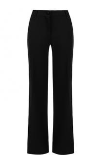 Расклешенные брюки со стрелками Valentino
