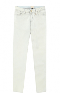 Однотонные джинсы зауженного кроя Giorgio Armani
