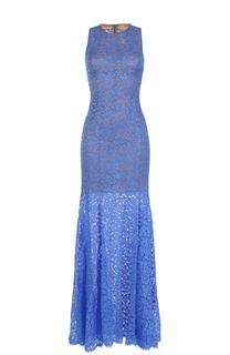 Кружевное платье-макси без рукавов Michael Kors