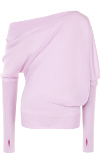 Кашемировый пуловер с открытым плечом Tom Ford