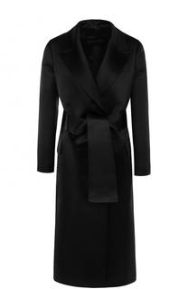 Шелковое пальто с широким поясом Tom Ford