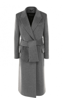 Кашемировое пальто с широким поясом Tom Ford