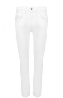 Укороченные джинсы прямого кроя Current/Elliott