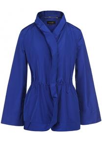 Приталенная куртка с расклешенными рукавами Escada