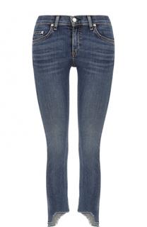 Укороченные джинсы-скинни с потертостями Rag&Bone Rag&;Bone