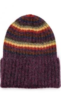 Вязаная шапка в полоску Tak.Ori
