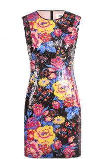 Приталенное мини-платье с пайетками Diane Von Furstenberg