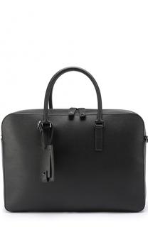 Кожаный портфель с отделкой Rockstud Valentino