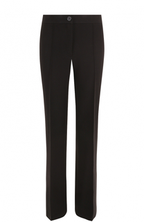 Расклешенные брюки со стрелками Helmut Lang