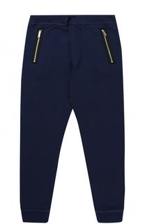 Спортивные брюки из хлопка с прострочкой Dsquared2