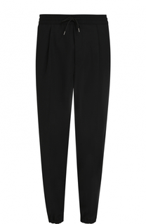 Шерстяные брюки с заниженной линией шага MCQ