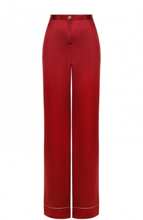 Шелковые широкие брюки Roberto Cavalli