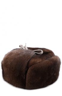 Меховая шапка-ушанка Walk of Shame