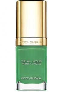 Лак для ногтей, оттенок 724 Green Rock Dolce & Gabbana