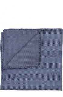 Шелковый платок с узором Giorgio Armani