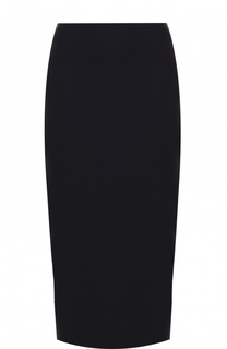 Однотонная юбка-миди DKNY