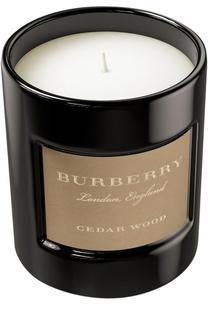 Свеча ароматизированная Cedar Wood Burberry