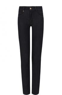 Укороченные джинсы-скинни BOSS
