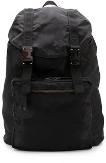 Рюкзак с клапаном и камуфляжным принтом Valentino