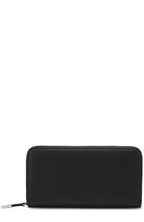 Кожаное портмоне на молнии с отделением для монет Dior