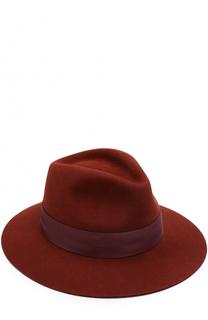 Фетровая шляпа Rico с лентой Maison Michel