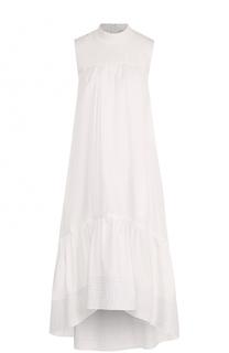 Платье прямого кроя с оборками 3.1 Phillip Lim