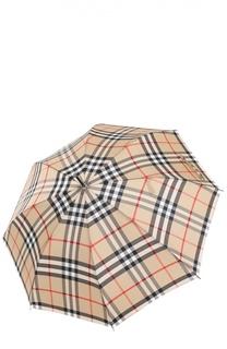 Зонт-трость в клетку Burberry