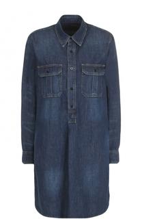 Джинсовое платье свободного кроя Polo Ralph Lauren