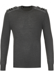 Пуловер из смеси шерсти и шелка с кашемиром Neil Barrett