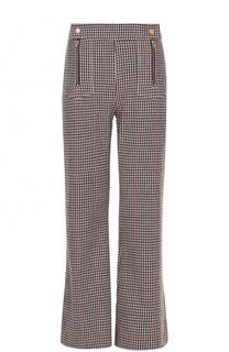 Расклешенные брюки фактурной вязки See by Chloé