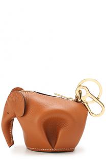 Кожаный брелок Elephant Loewe