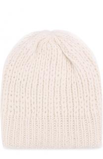 Шерстяная шапка фактурной вязки Koshakova