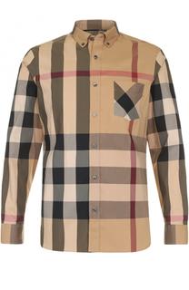 412d0f27960 Мужские рубашки с длинным рукавом Burberry – купить в интернет ...