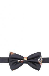 Галстук-бабочка из шелка с принтом Dolce & Gabbana