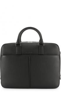 Кожаная сумка для ноутбука с плечевым ремнем Dior