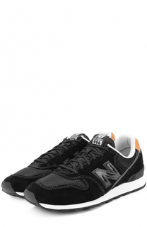 Замшевые кроссовки 996 на шнуровке New Balance